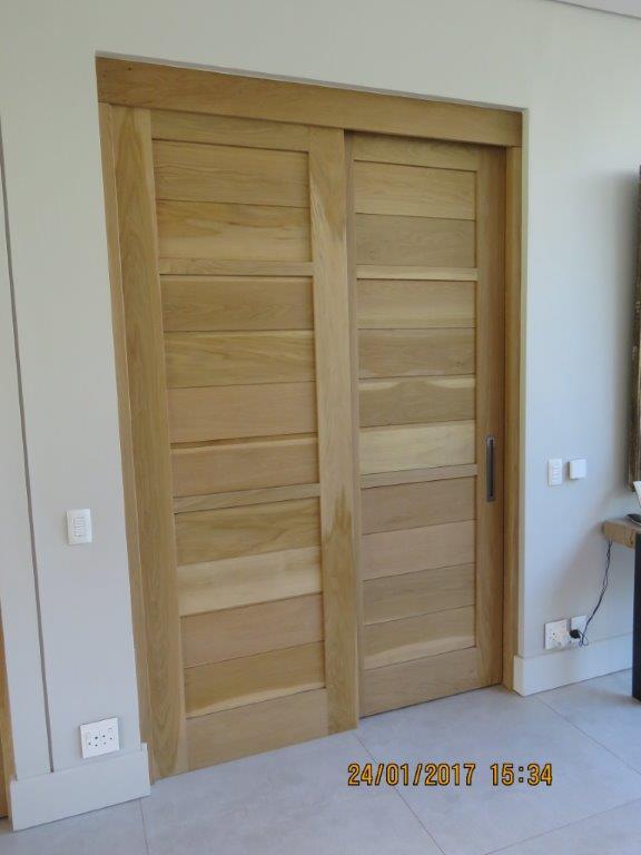 Oak doors (2)
